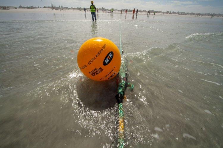 MTN Large Fibre Optic Cable Beach-Landing Civil Engineering